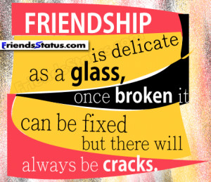 Friendship Quotes For Facebook Status Updates