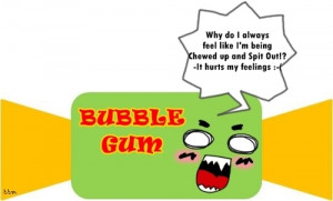 Most popular tags for this image include: funny, bubble gum and lol