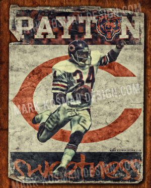 Walter Payton Famous Nfl