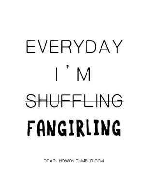 fangirl kpop so true