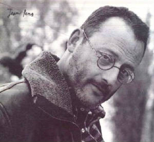 Jean Reno - Gorgeous in b&w