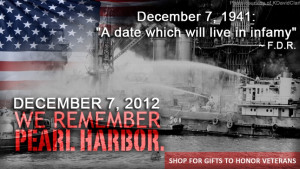 Pearl Harbor Remembrance Day 2012 Quotes