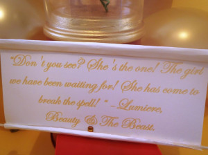 beauty and the beast enchanted rose quote