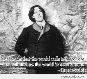 Oscar Wilde quote on the Wikileaks ordeal