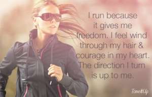 ... wind through my hair & courage in my heart. The direction I turn is up