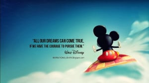 Best Walt Disney Quotes Mickey Background