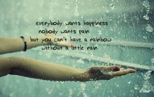 hands, quotes, rain