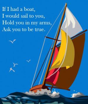 James Vincent McMorrow - If I had a Boat. Sailing. Quotes.