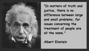einstein justice quotes