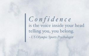 Quotes About Being Confident In Yourself This quote the other day,