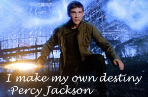 Percy Jackson Quote by Quoteings