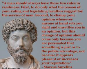 Marcus Aurelius (121-180 AD)