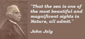 John joly famous quotes 5