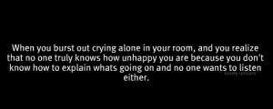 mine quote depression sad lonely alone typo crying self harm idk ...