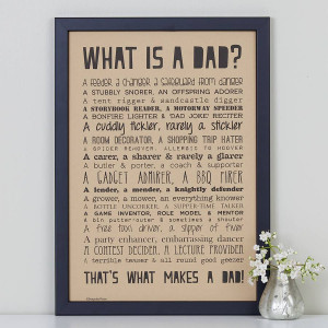 What Makes a Dad Poem