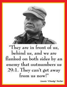 Chesty Puller Marine Quotes