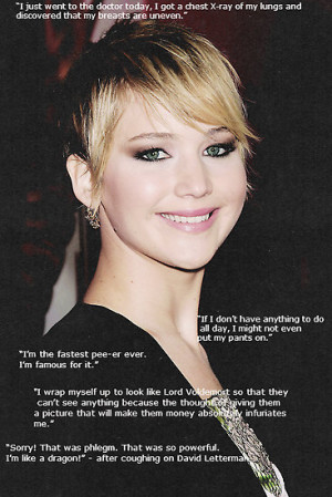 2kewl4u › Portfolio › Jennifer Lawrence Quotes Picture