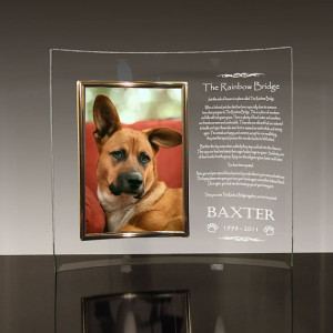 cool memorial frame for your pet!