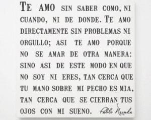 Romantic Poems For Her In Spanish Spanish quotes, love poem