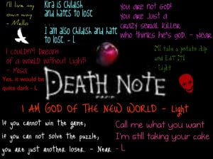 Death Note Quotes by windfox102
