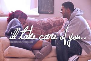 cute, drake, love, rihanna, take care, text