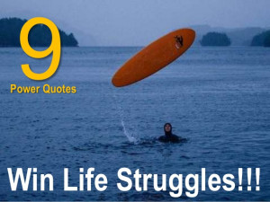 Powerful Quotes Win Life Struggle!!!