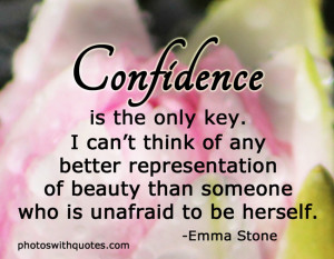 self confidence and beauty quotes about self confidence and beauty ...