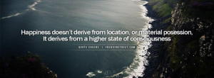 Happiness Is A Higher State of Consciousness Wallpaper