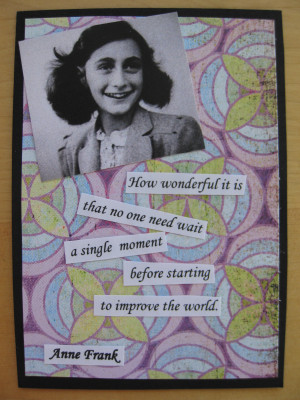 Anne Frank Quotes And Page Numbers
