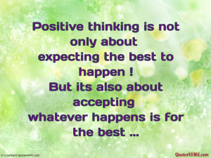 Positive Thinking Quotes HD Wallpaper 18