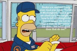 Homer Simpson's Life Lessons