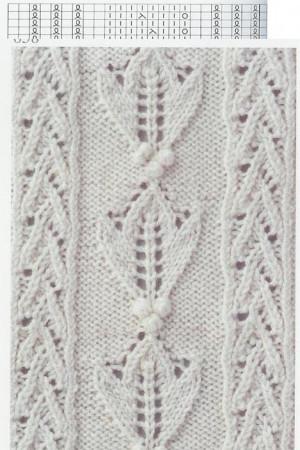 Lace Knitting Stitch #59