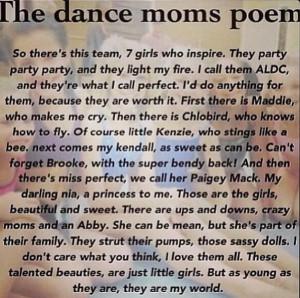 Via Dance Moms Fan Page