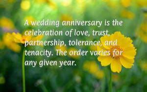 Wedding Anniversary The Celebration Love Trust Partnership