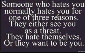 Ignore the haters!