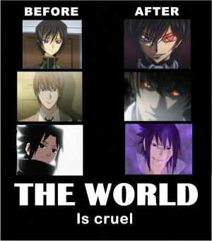 ... no Lelouch, NARUTO, Uchiha Sasuke, Lelouch Lamperouge, Yagami Raito