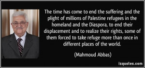 More Mahmoud Abbas Quotes