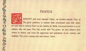 to all soldiers in his Third Army just before Christmas 1944