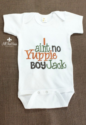 ... Sayings - Baby Shower Gifts - Yuppie Boy- Jack. $18.00, via Etsy. by