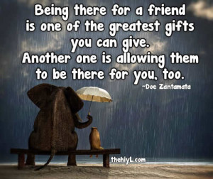 Thanks For Being A Good Friend Quotes