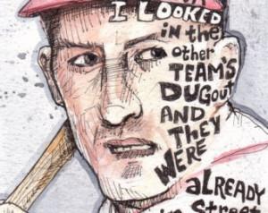 Bob Uecker Baseball Quote 8x10 Print
