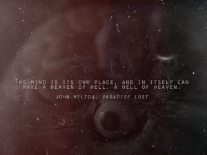 John Milton Paradise Lost quote