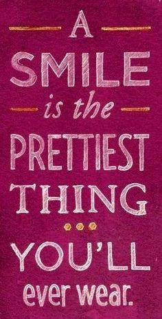Smile... prettiest thing you'll wear. www.londondentalcareohio.com
