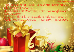 Quotes, Pictures,Season of Love, Joy and Happiness, Christmas Quotes ...
