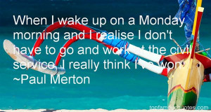 Quotes About Monday And Work Pictures