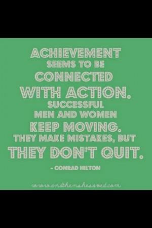 Attaining your goals