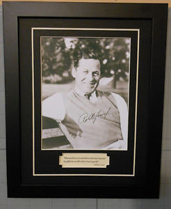 Bobby-Jones-Signed-Photo-Reprint-Golf-Quote-Framed