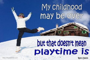 Family quotes release the child within quote and the snow ice skating ...