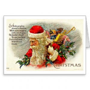 Santa Quotes Cards & More
