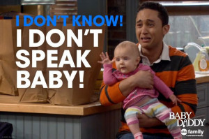 Don't Know! I Don't SPEAK BABY!